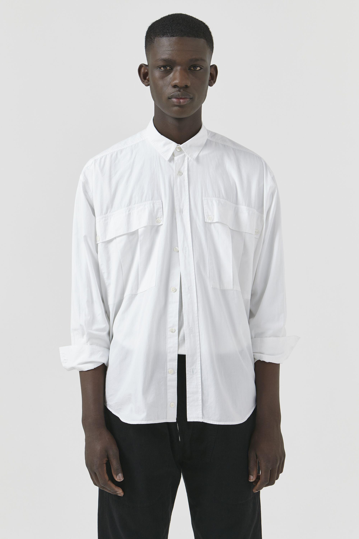 bd970cae4b26c Alex katharine hamnett unisex white poplin big shirt men jpg 2000x3000 Katharine  hamnett mens